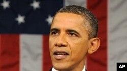 1月24号,奥巴马总统在国会发表国情咨文演说