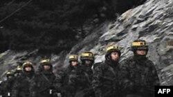 Južnokorejska vojska u pripravnosti