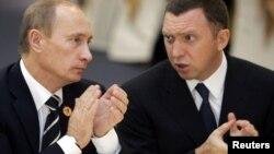 Володимир Путін і Олег Дерипаска. 2006р.