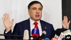 Михаил Саакашвили. Варшава, Польша. 13 февраля 2018 г.