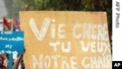 Manifestation contre la vie chère au Burkina