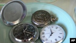 Watches, especially old-time pocket watches, are an enjoyable collectible - both functional and beautiful.