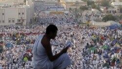 ميليونها زائر در مکه دومين روز حج را برگزار می کنند
