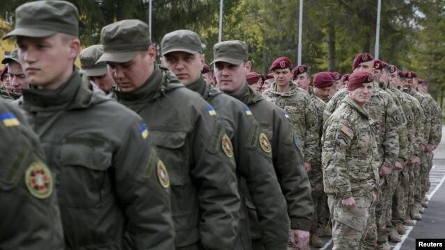 Украина будет совершенствовать подготовку вооруженных сил. Simple