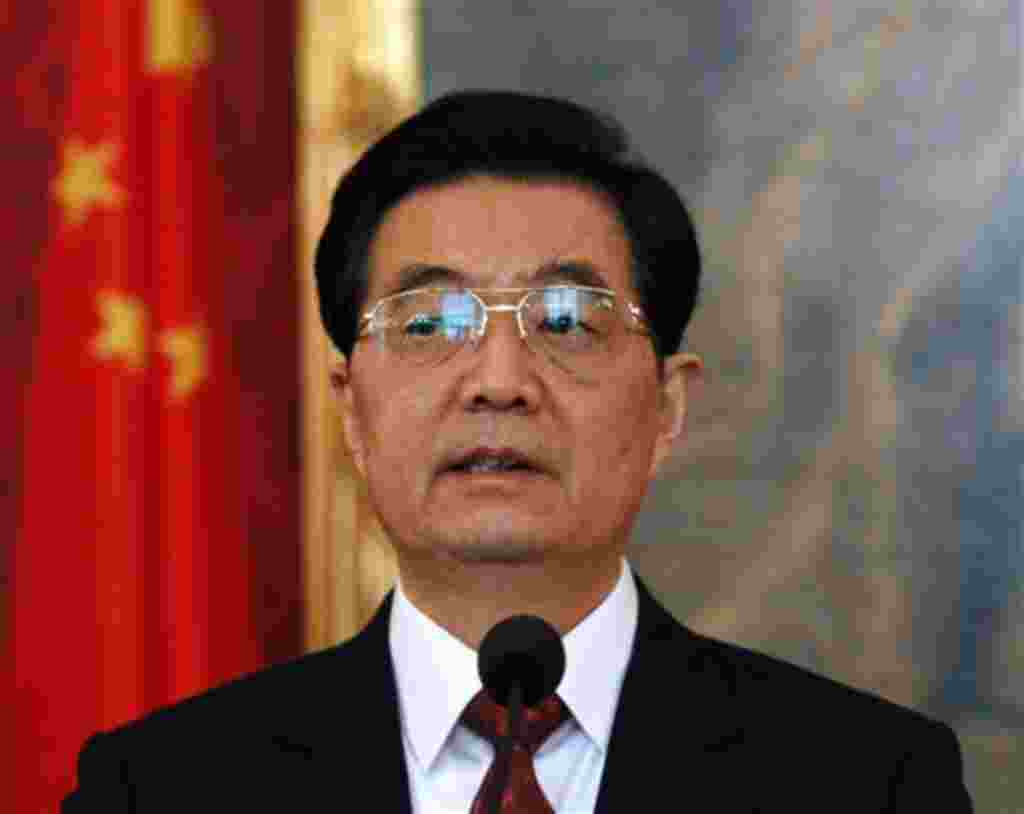 Hu Jintao, presidente de China.