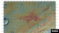 To σημείο που θα προσγειωθεί το Curiosity στην επιφάνεια του Άρη
