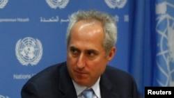 Stéphane Dujarric, porte-parole du Secrétaire général de l'ONU, Ban Ki-moon