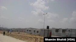 غلام خان کی سرحدی گزرگاہ پر عملے کی رہائش کے انتظامات بھی کیے گئے ہیں۔