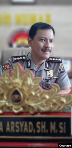 Kabid Humas Polda Lampung Zahwani Pandra Arsyad. (Foto: Zahwani)