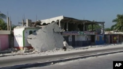 This city of Carrefour was at the epicenter of the earthquake that reduced much of Haiti to rubble, 26 Jan 2010