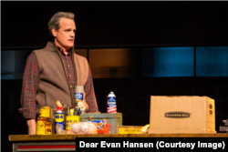 "Michael Park in ""Dear Evan Hansen."""