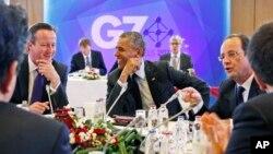 Reunión del G7 en Bruselas, el año pasado.