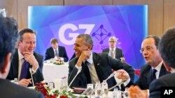 Tổng thống Hoa Kỳ Barack Obama dự cuộc họp nhóm G-7 ở Brussels, 5/6/14
