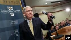 McConnell insistió que no habrá cierres de gobierno con el nuevo Congreso republicano.