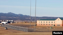 "FILE - The Federal Correctional Complex, including the Administrative Maximum Penitentiary or ""Supermax"" prison, in Florence, Colorado."