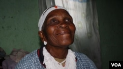 Nozolile Zintoyinto has been a sangoma, or traditional healer, at Bulungula for six decades (VOA/Taylor)