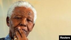 Nelson Mandela en 2005