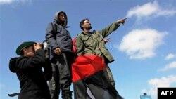 Thành viên lực lượng nổi dậy Libya