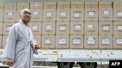 Гуманитарная помощь из США доставлена в Северную Корею