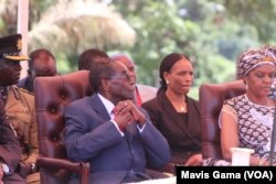 President Robert Mugabe and First Lady Grace Mugabe