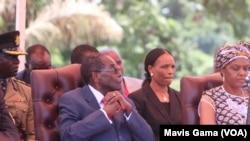 President Robert Mugabe and First Lady Grace Mugabe