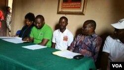 Delegação da JURA que visitou Capenda Camulenga