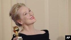خانم مریل استریپ یکی از ستارهای سرشناس هالیوود است.