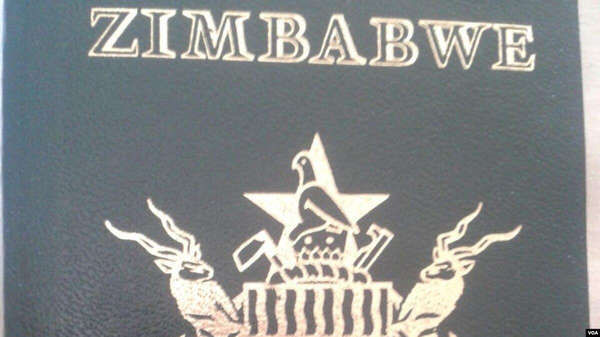 Pushing shoving for zimbabwe passports over falaconquin
