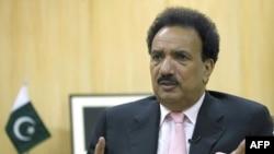 Bộ trưởng Nội vụ Pakistan Rehman Malik