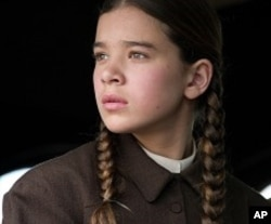 "Hailee Steinfeld plays Mattie Ross in Paramount Pictures' ""True Grit."""