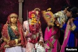 کراچی میں ہونے والی ایک اجتماعی ہندو شادی