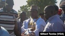 Babagana Zulum, le gouverneur de l'Etat de Borno au Nigeria, le 1er décembre 2020. (VOA/Gilbert Tamba)