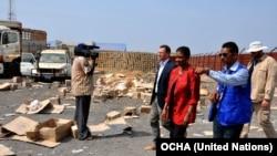 UN Humanitarian Chief Visits South Sudan