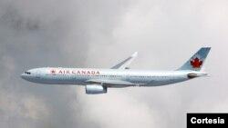 Air Canada fue la primera en anunciar que suspendía sus vuelos a Caracas.