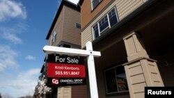 Rumah-rumah yang dijual di kota Portland, Oregon (foto: ilustrasi).