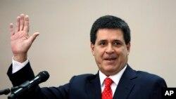 Presiden Paraguay Horacio Cartes. (Foto: Dok)