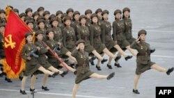 Pxenyanda hərbi parad