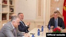 Predsjednik Skupštine Crne Gore Ivan Brajović na konsultacijama sa političkim strankama (Foto: Skupština Crne Gore)
