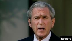 Perezida George W. Bush yahoze arongoye Amerika