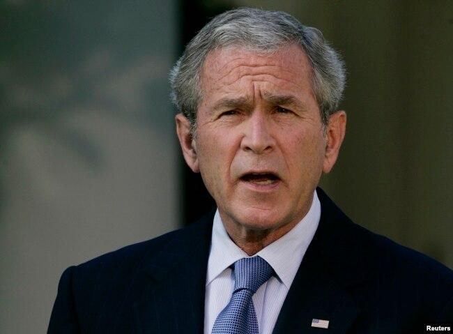 El expresidente George W. Bush y el presidente Donald Trump no han ocultado su desprecio mutuo desde la campaña presidencial de 2016.