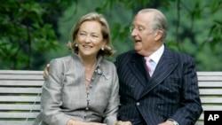 آلبرت دوم، پادشاه پیشین بلژیک و همسرش پائولا