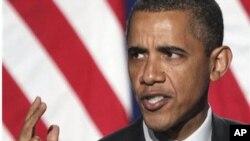Обама со сенатските лидери расправа за националниот долг