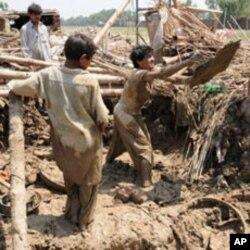 سیلاب کی تباہ کاریوں کا منظر (فائل فوٹو)
