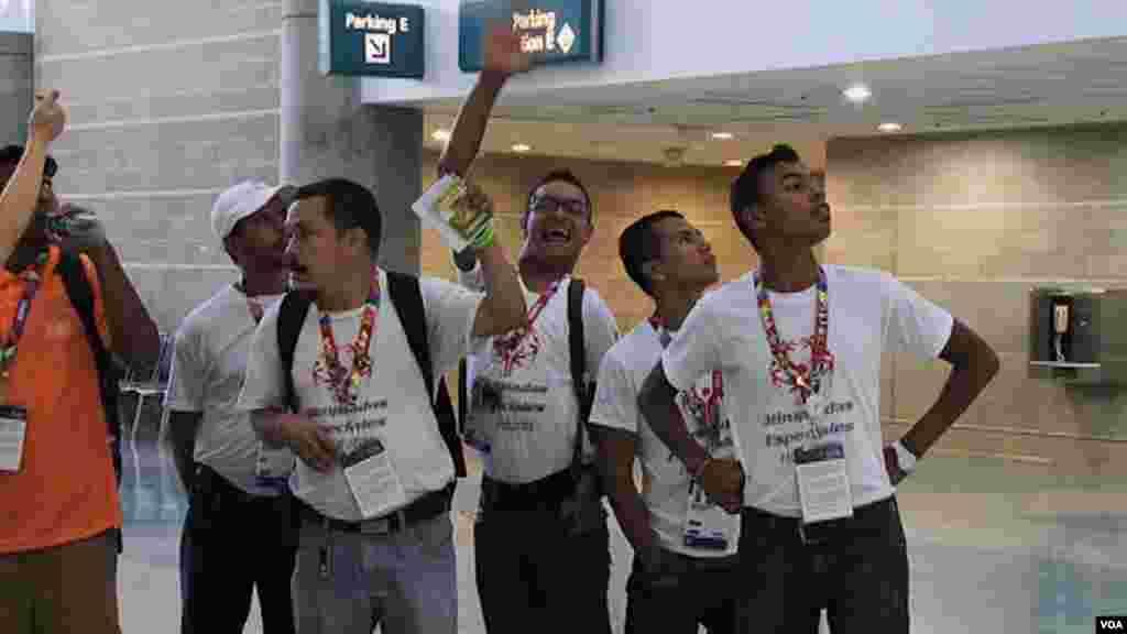 برگزاری رقابت های المپیک ویژه ۲۰۱۵ در شهر لس آنجلس ایالت کالیفرنیا