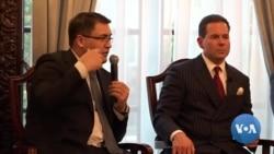 US-Uzbekistan Q&A: Justice Minister Davletov & Capital Markets Development Agency Director Nazirov