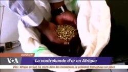 La contrebande d'or en Afrique