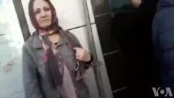 تجمع زنان در مقابل وزارت کار به مناسبت روز جهانی زن؛ معترضان دستگیر شدند