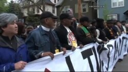 Madison'da Polis Şiddetine Protesto