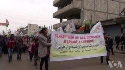 Gelê Qamişlo Îro jibo Efrînê Meşîya