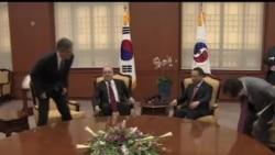 2013-09-06 美國之音視頻新聞: 兩韓恢復軍事熱線 美韓官員首爾會晤
